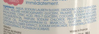 Gel lavant 2 en 1 - Ingredients - fr