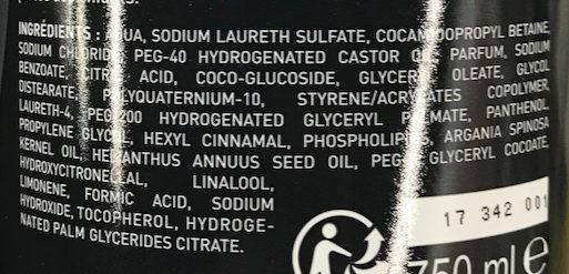 Shampooing Répare Nourrit - Ingredients