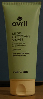 Le gel nettoyant visage - Produit