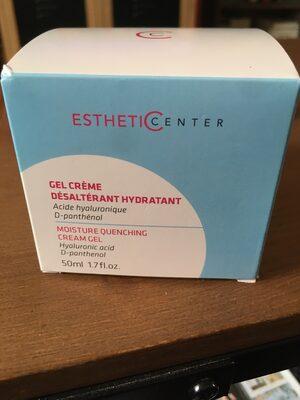 Gel crème désaltérant hydratant - Product