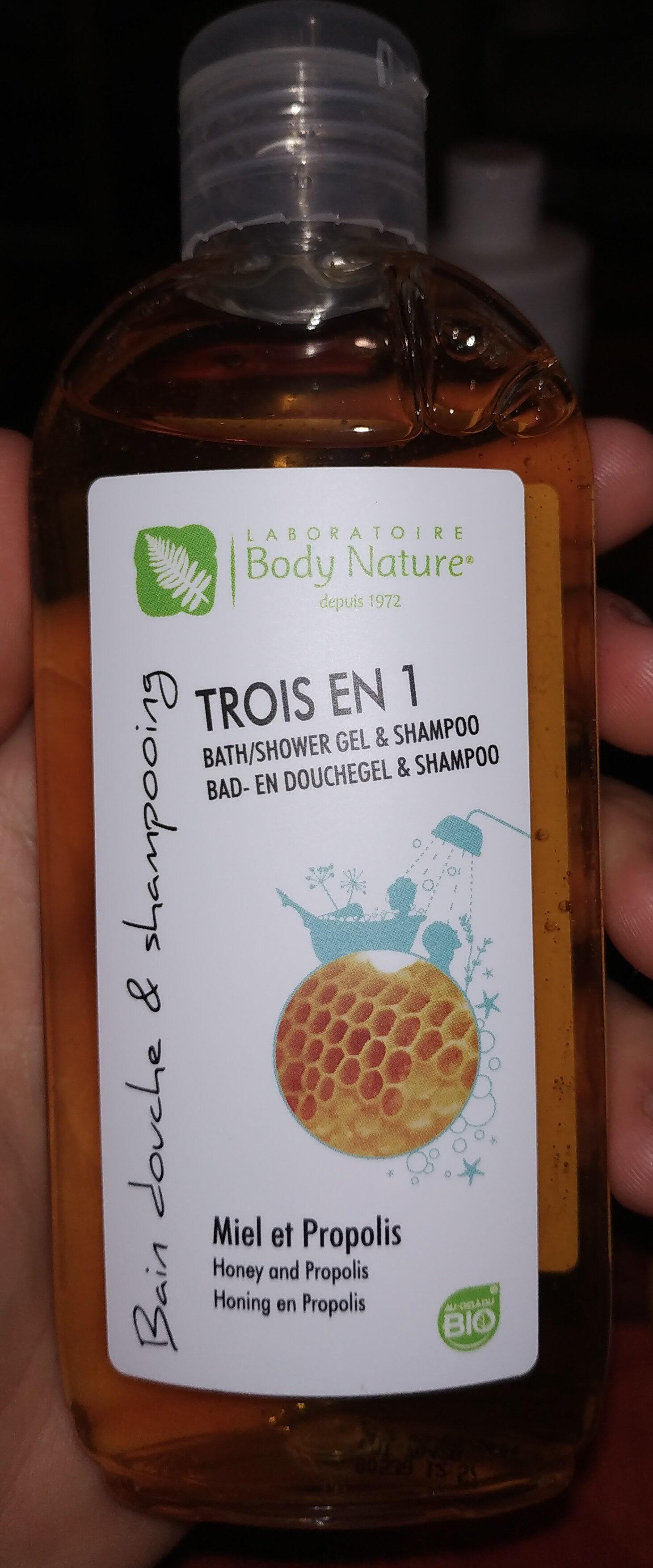 Trois-en-un gel douche - Product - fr