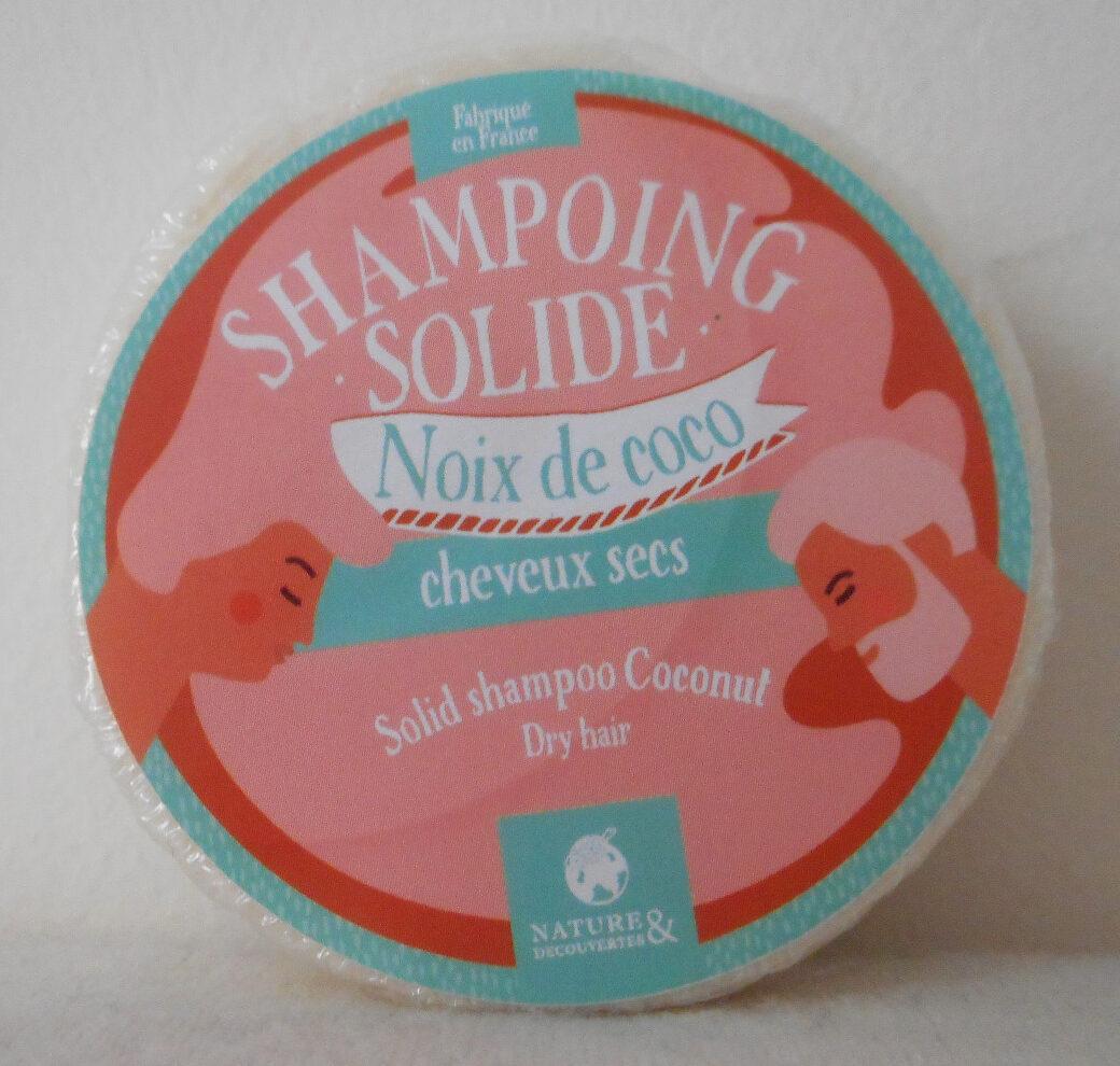 Shampoing solide Noix de coco cheveux sec - Produit - fr