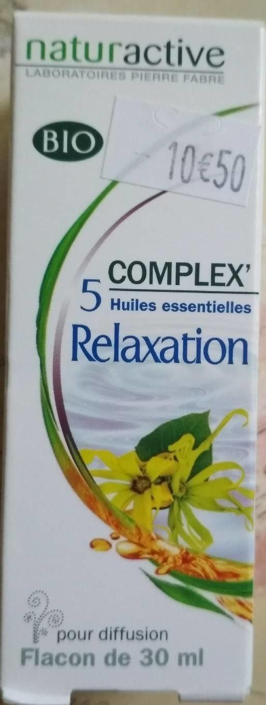 Complex 5 huile essentielle relaxation - Produit - fr