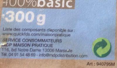 Savon de Marseille - Ingrédients - fr