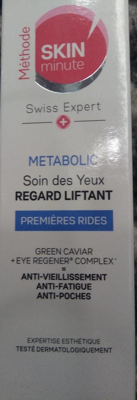 METABOLIC Soin des yeux Regard Liftant - Product - fr