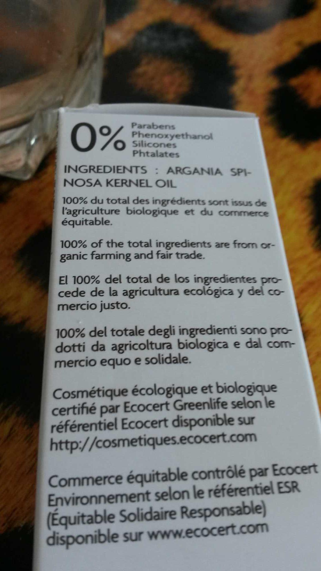 huile d argan bio - Product - fr