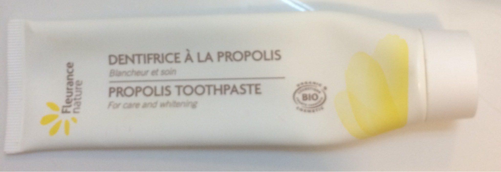 Dentifrice à la propolis - Product - fr