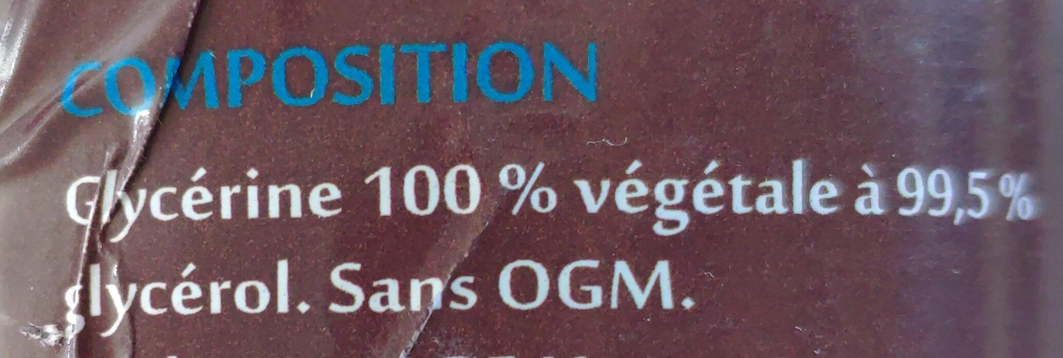 Glycèrine végétale - Ingredients - fr