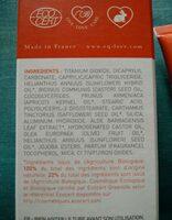 Crème solaire SPF 50 - Ingredients - en