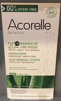 Bandes de Cire Froide - corps - Product