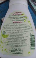 Mousse De Douche - Peaux Sensibles - Ingredients