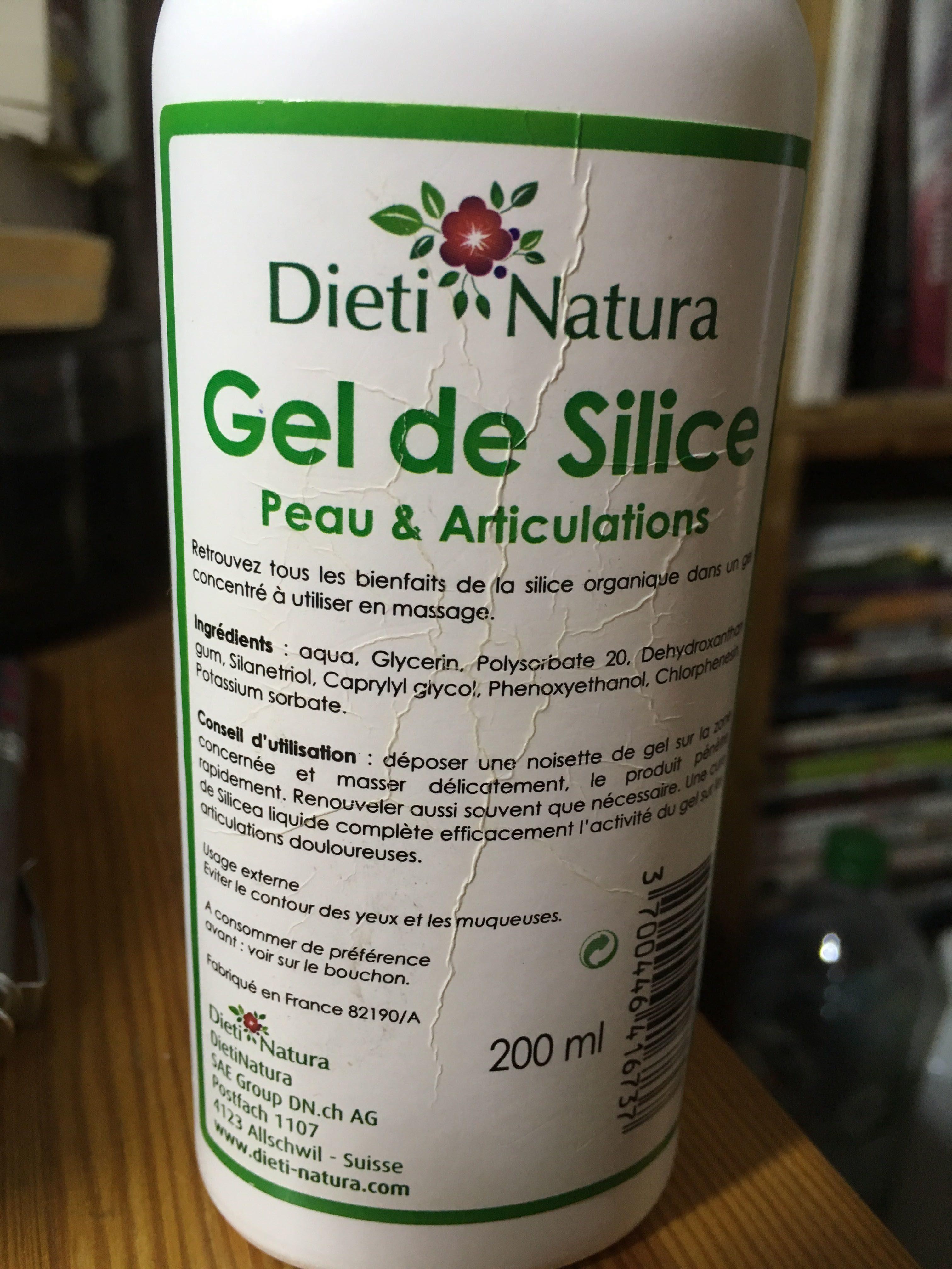 Gel de Silice Peau & Articulations - Product
