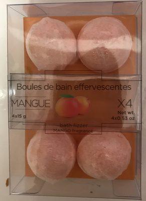 Boules de bain effervescentes Mangue - Produit