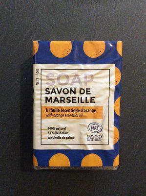Savon de Marseille à l'orange - Product