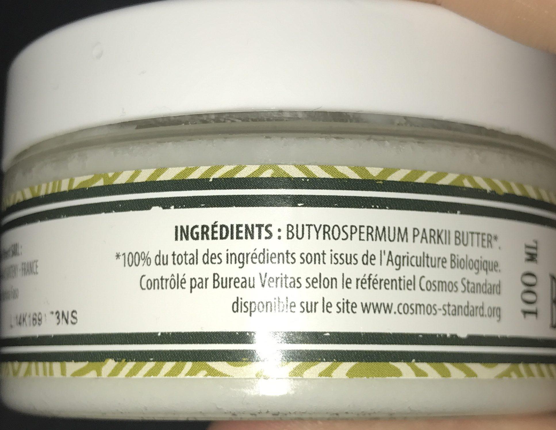 Beauté & Hygiène / Soins Du Corps / Baume Et Beurre De Karité - Ingredients - fr