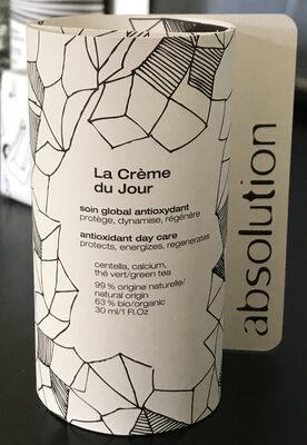 La crème de jour - Produit - fr