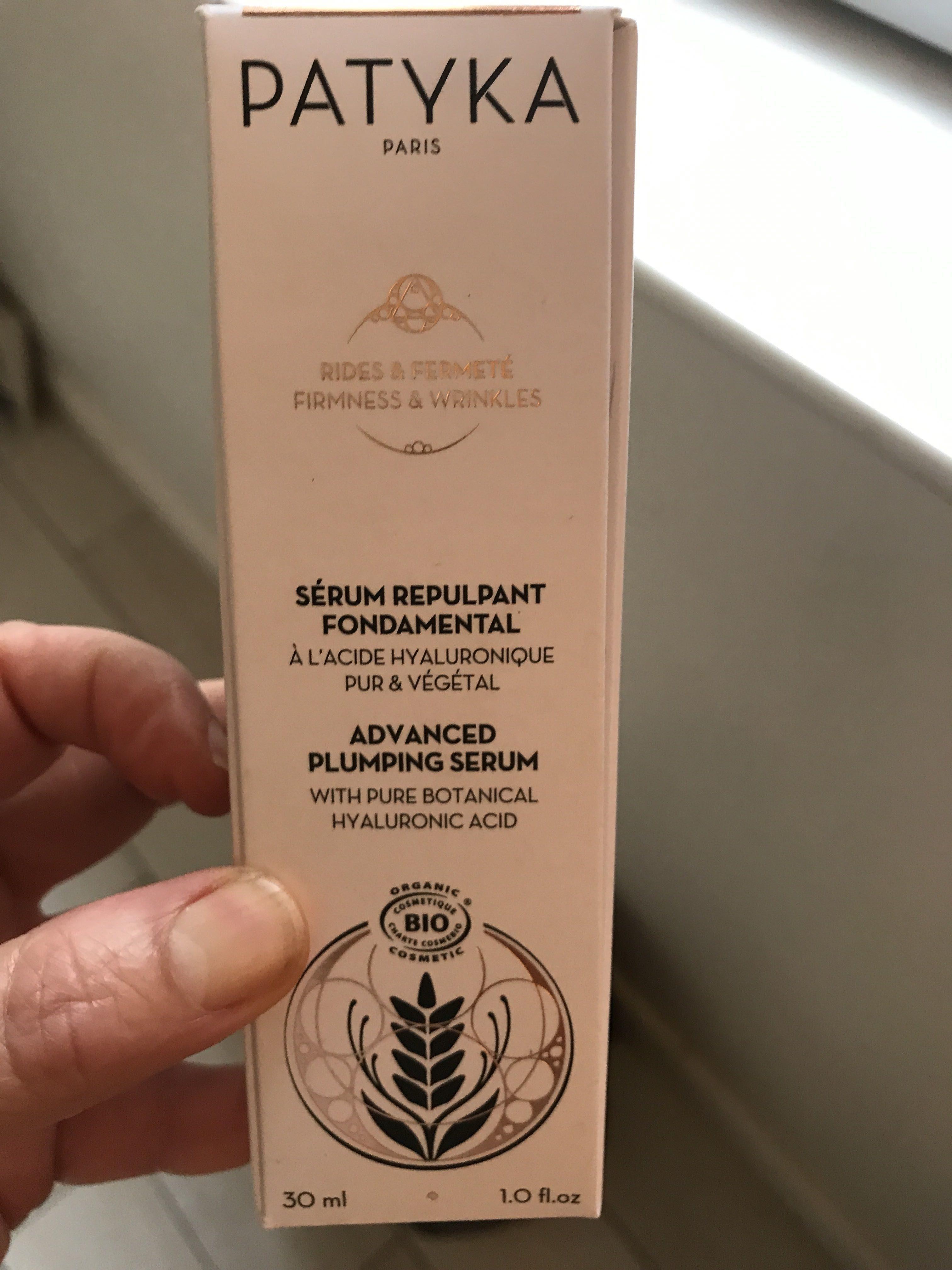 Sérum repulpant fondamental - Produit