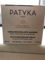 Crème remodelante jeunesse - Produit