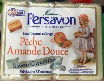 Pêche Amande Douce savon glycériné - Product