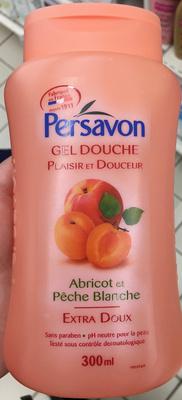 Gel douche Abricot et Pêche blanche extra doux - Product