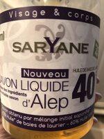 Savon liquide d'Alep - Produit