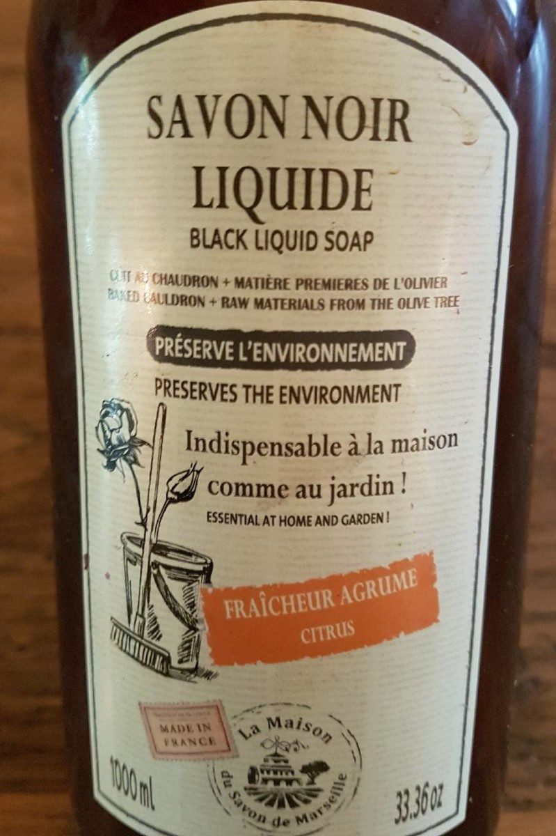 Savon noir liquide - Product