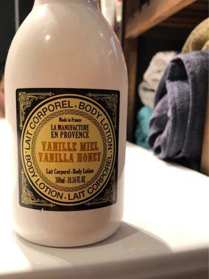 Lait corporel vanille miel - Produit