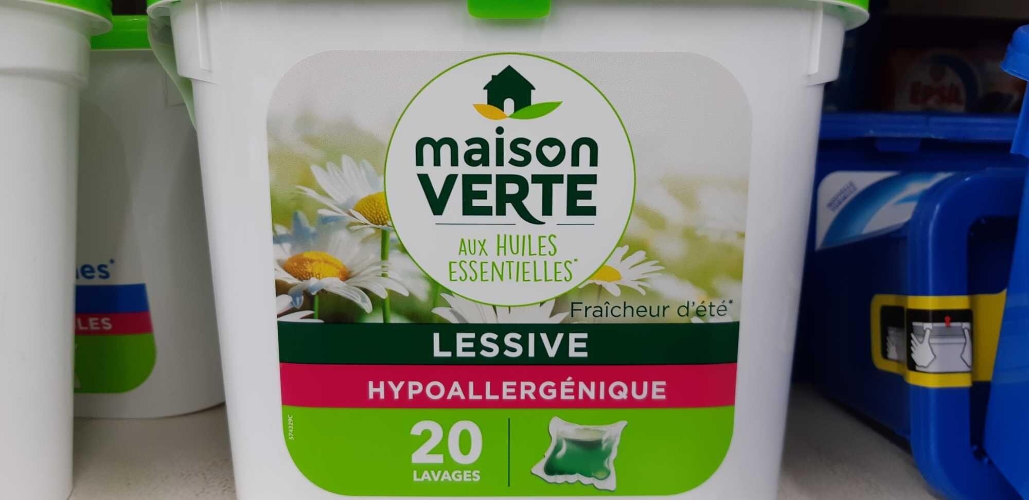 LESSIVE HYPOALLERGÉNIQUE - Produit