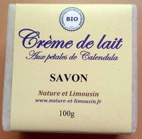 Crème de lait aux pétales de Calendula - Produit