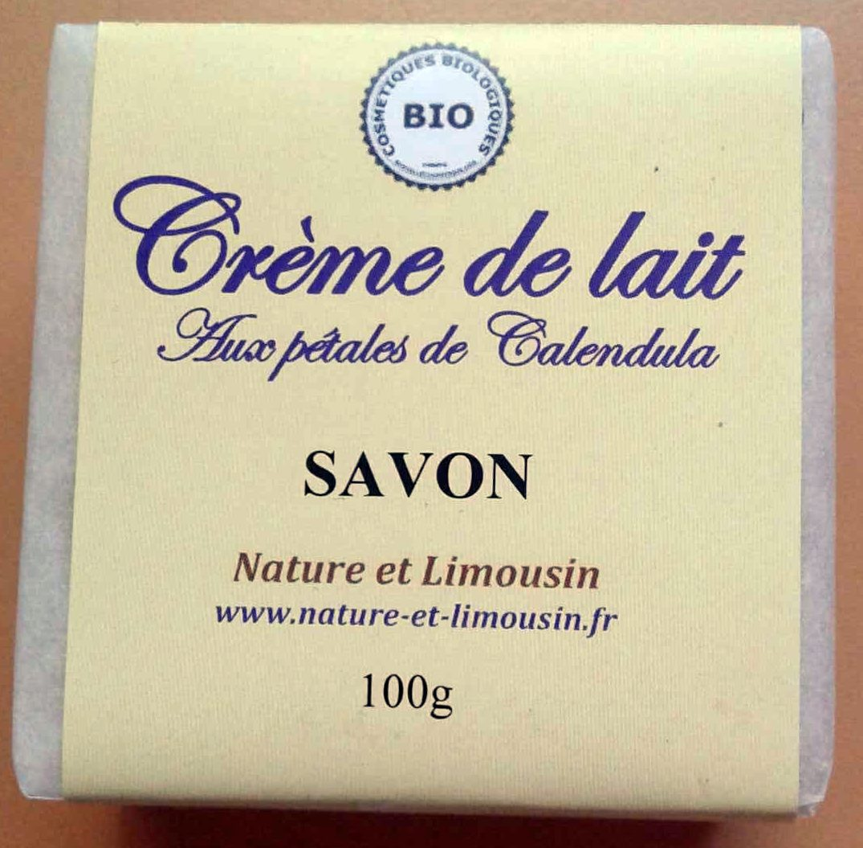 Crème de lait aux pétales de Calendula - Product - fr