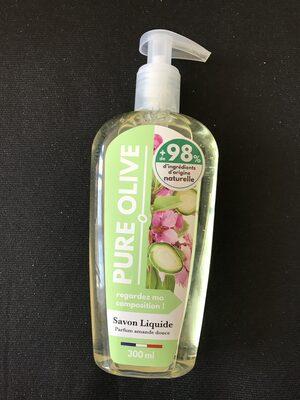 Savon liquide parfum amande douce - Product - fr