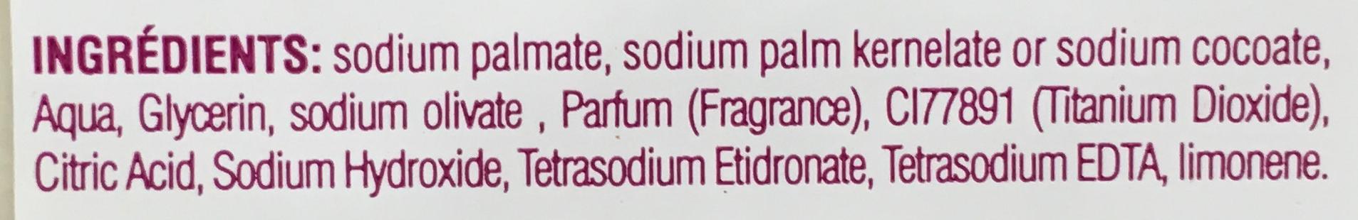 Savon naturel parfumé à l'huile d'olive - Ingredients - fr