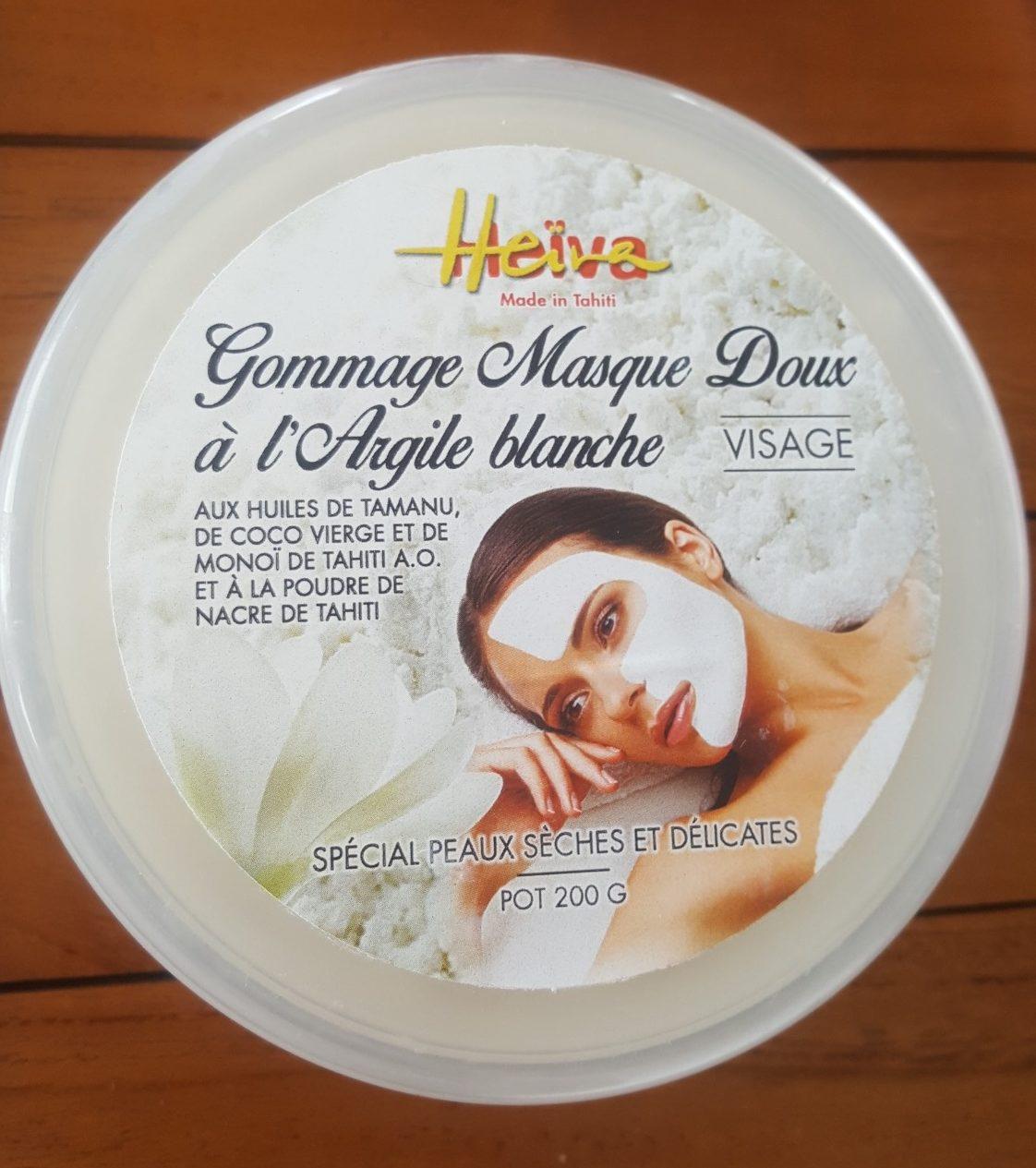 Gommage Masque Doux à l'argile Blanche - Product - fr