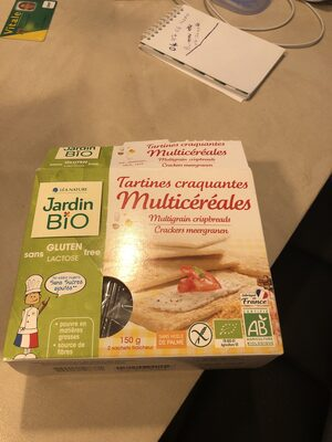Tartines craquantes multicereales - Product