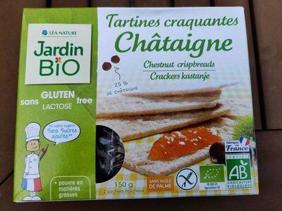 Tartines craquant es châtaigne - Produit
