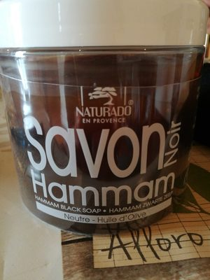 Savon noir hammam - 1
