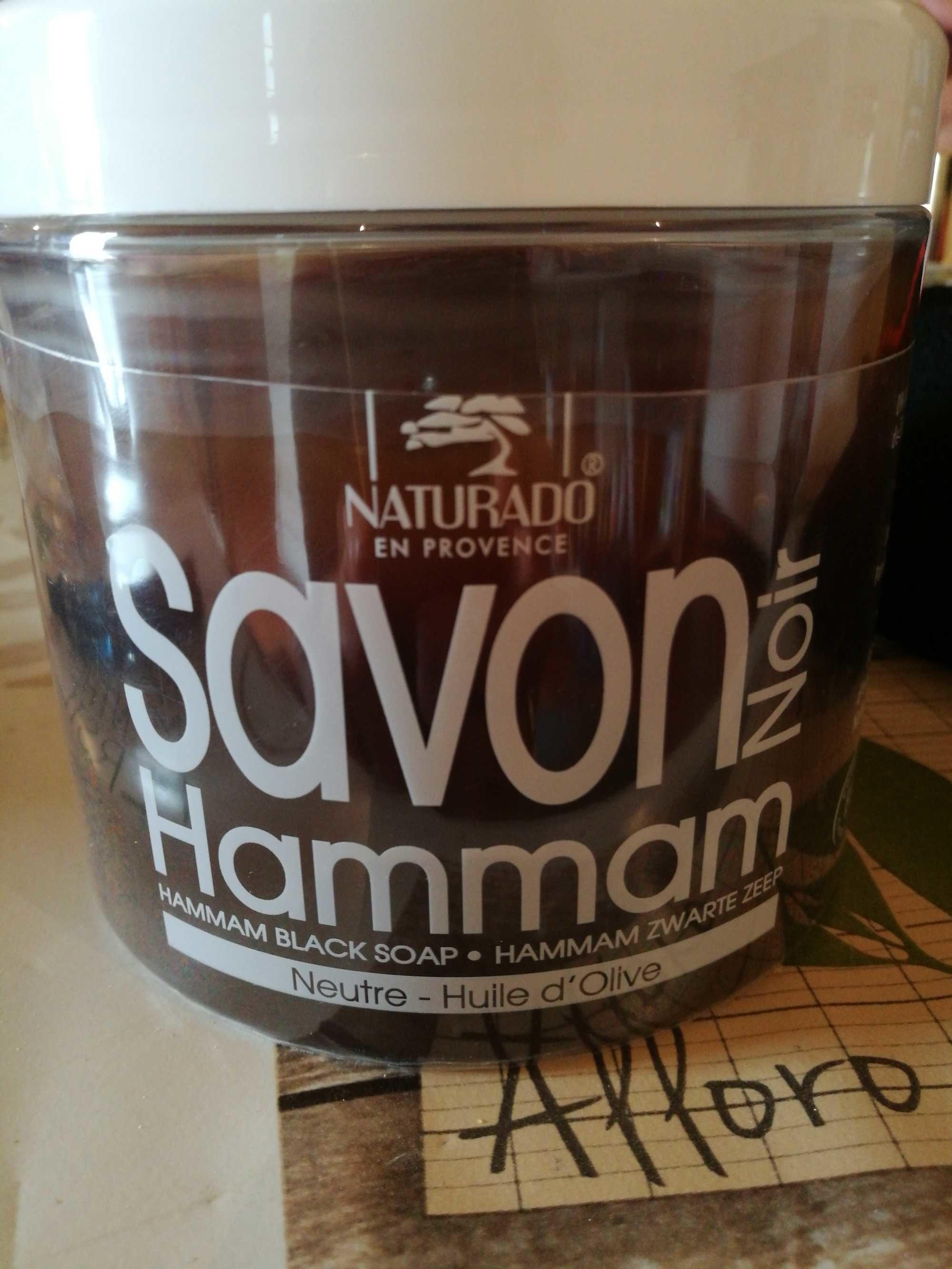 Savon noir hammam - Produit - fr