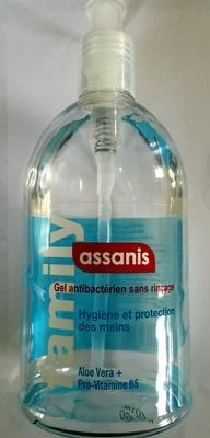 Gel antibactérien sans rinçage - Produit