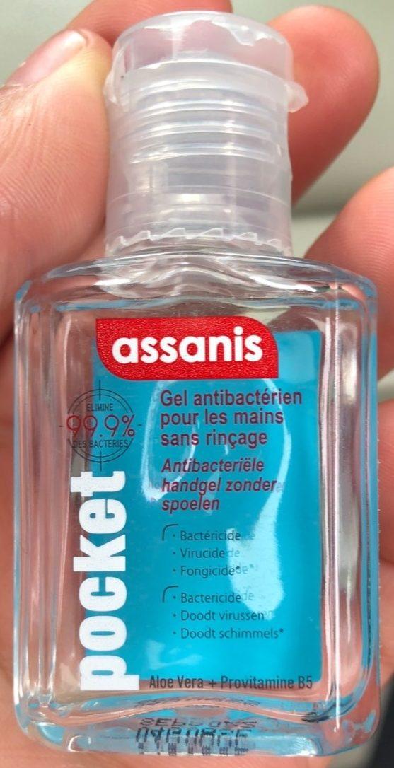 Gel antibactérien pour les mains sans rinçage Pocket - Product