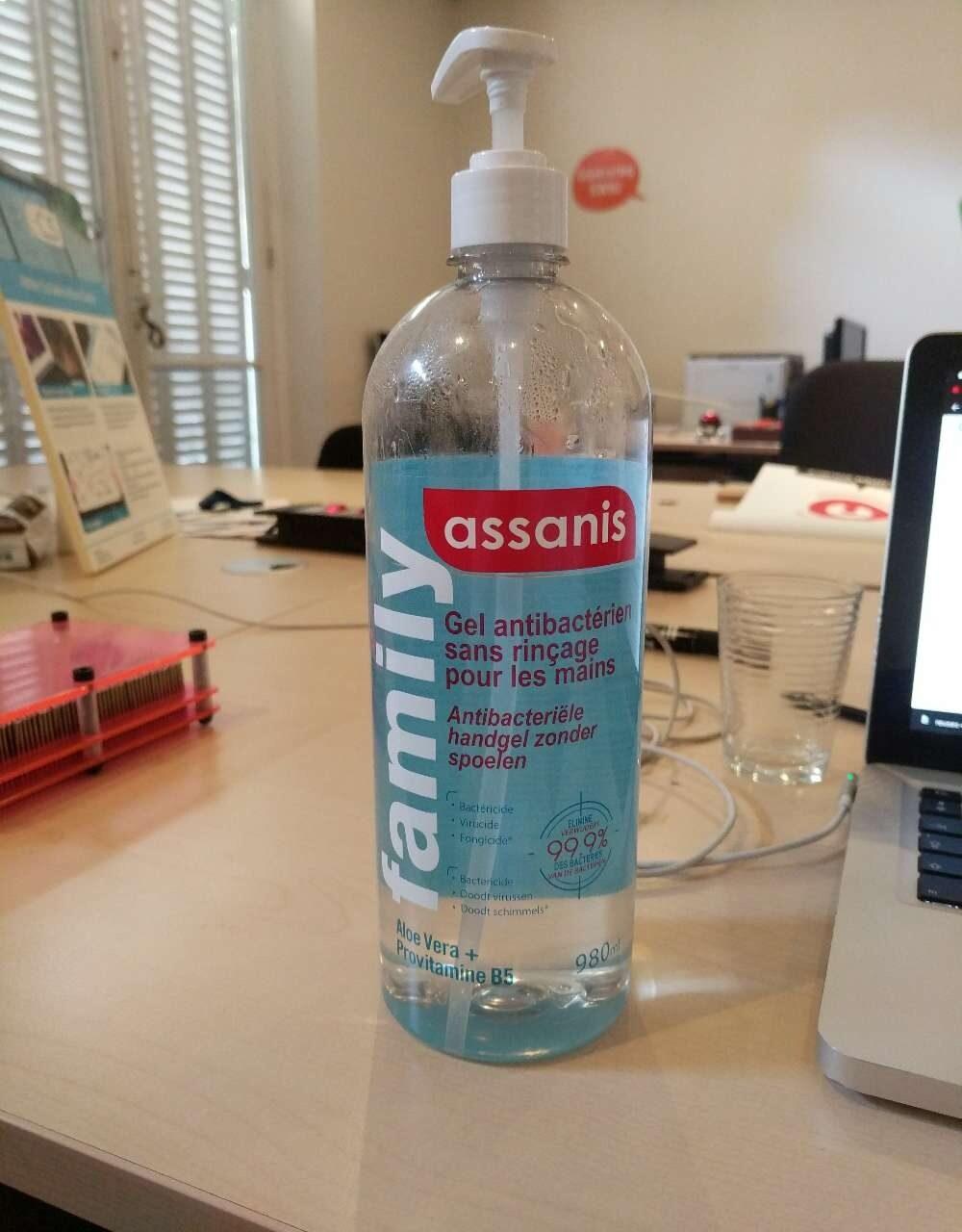 Gel antibactérien sans rinçage pour les mains - Product - en
