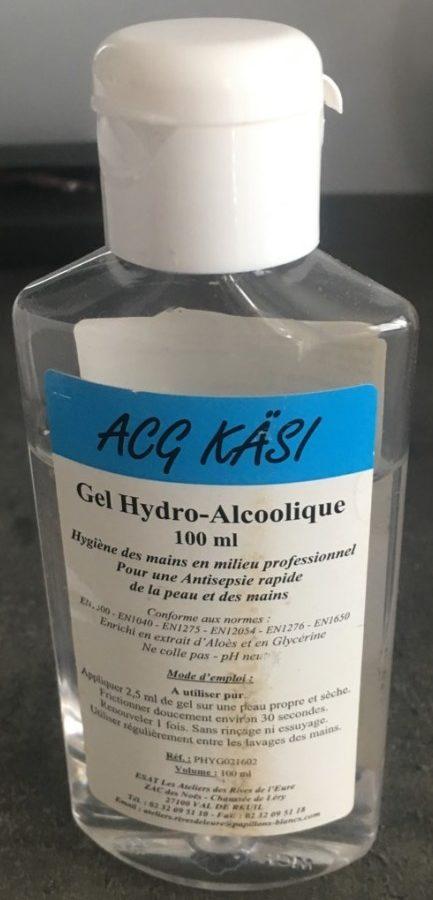 Gel Hydro-Alcoolique - Produit