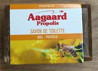 Savon De Toilette Miel Propolis - 100 G - Aagaard - Product - fr