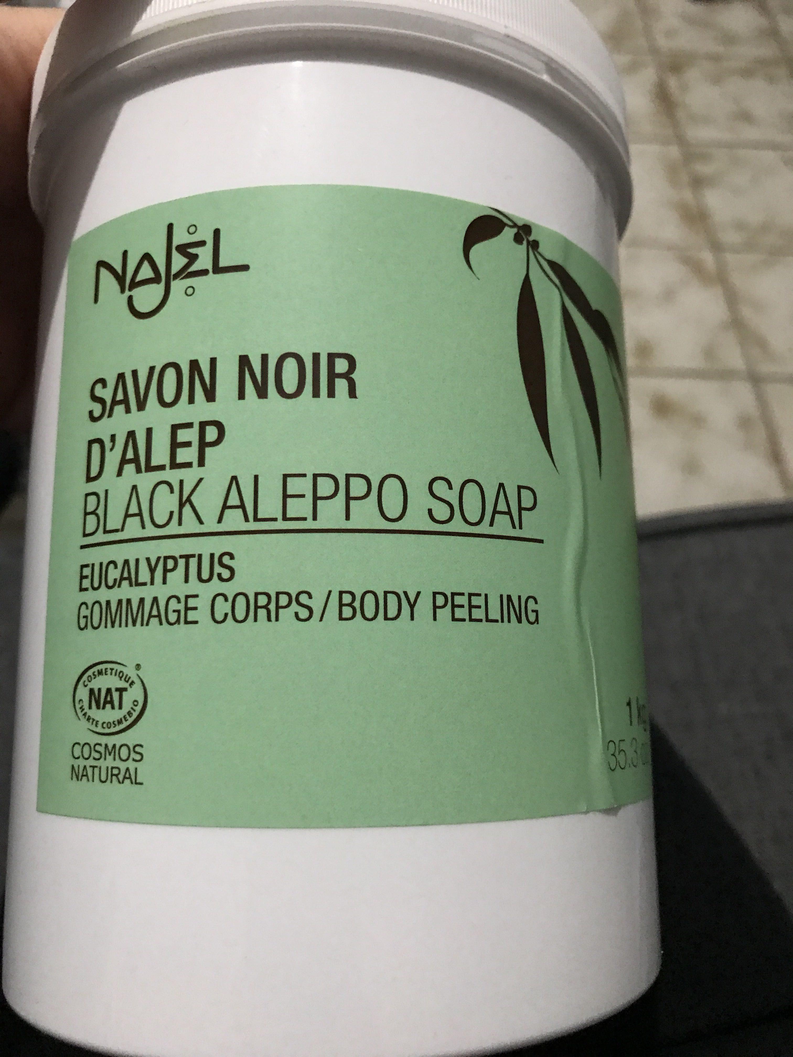 Savon noir d'Alep - Produit
