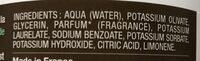 Savon noir d'Alep - Ingredientes - fr