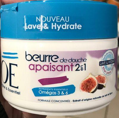 Beurre de douche apaisant 2 en 1 au lait de figue - Product - fr