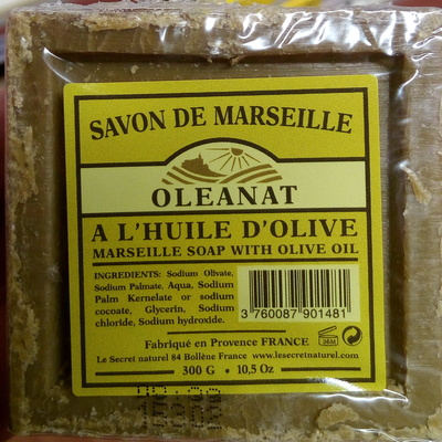 Savon de Marseille à l'huile d'olive - Produit