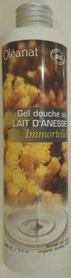 Gel douche au lait d'anesse Immortelle - Produit