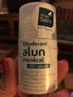 Déodorant alun minéral - Product
