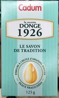 La recette Donge 1926 le savon de Tradition - Product