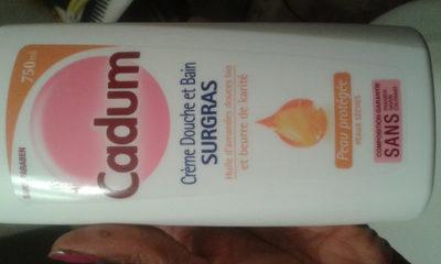 Crème douche et bain surgras - Product